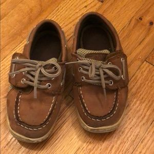 Sperry Billfish Docksiders in Dark Tan